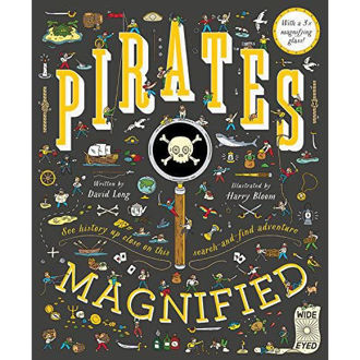 Picture of Pirates Magnified ( with a 3x Magnifiying glass)