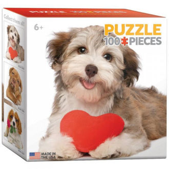 Picture of Dog with heart Puzzles