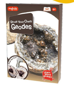Picture of Geology Break Your Own Geodes Kit