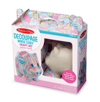 Picture of Decoupage Made Easy - Piggy Bank