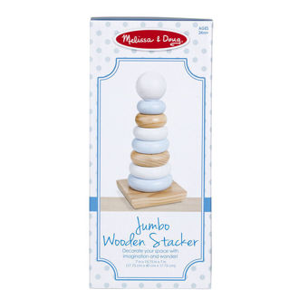 Picture of Wooden Jumbo Stacker - Natural