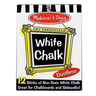 Picture of White Chalk Set of 12