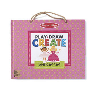 Picture of Play, Draw, Create Reusable Drawing & Magnet Kit - Princesses