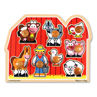Picture of Farm Friends Large Peg Puzzle
