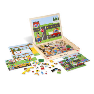 Picture of Wooden Magnetic Matching Picture Game