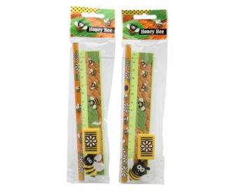 Picture of Honey Bee 5pc Stationery Set