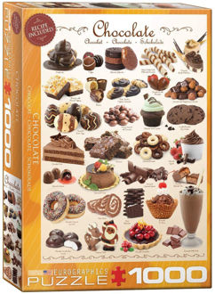 Picture of Eurographics Puzzle Chocolate