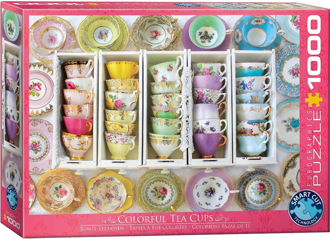 Picture of Eurographics Puzzle Tea Cup Collection