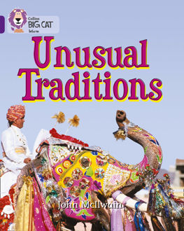 Picture of Unusual Traditions / Big Cat / Purple Band 8
