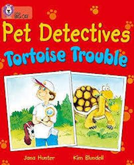 Picture of Pet Detectives Tortoise Trouble / Big Cat / Purple Band 8