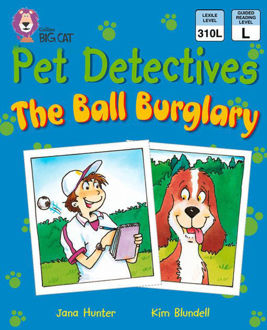 Picture of Pet Detectives The Ball Bulgrary / Big Cat / Gold Band 9