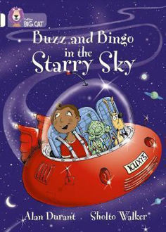 Picture of Buzz and Bingo in the Starry Sky / Big Cat / White Band 10
