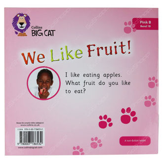 Picture of We Like Fruit! / Big Cat / Pink Band 1B