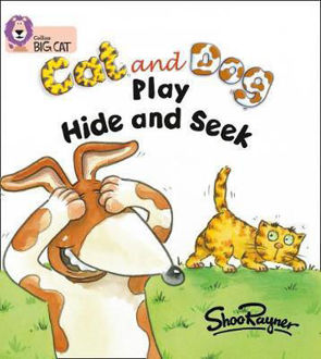 Picture of Cat and Dog Play Hide & Seek / Big Cat / Red A Band 2A