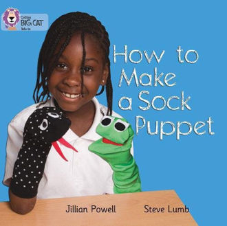 Picture of How to make a Sock Puppet / Big Cat / Red A Band 2A