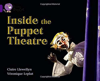 Picture of Inside the Puppet Theatre / Big Cat / Purple Band 8