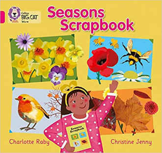 Picture of Seasons Scrapbook / Big Cat / Pink B Band 1B