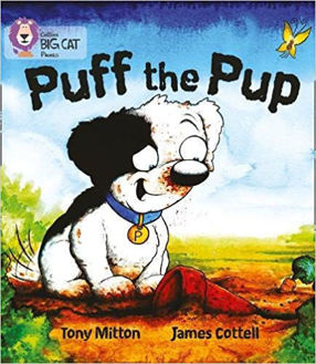 Picture of Puff the Pup Big Cat Red A Band 2A