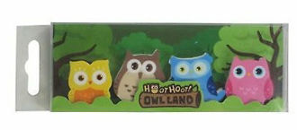 Picture of Owl Eraser Pack