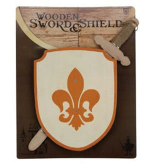 Picture of Wood Sword & Shield