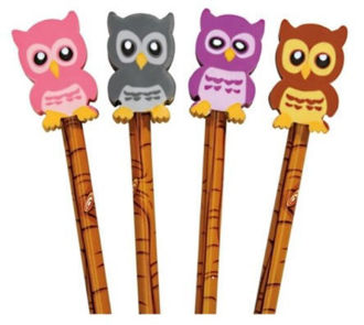 Picture of Owl Eraser Top Pencil