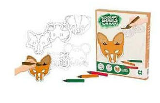 Picture of Woodland Animal Paper Mask Kit