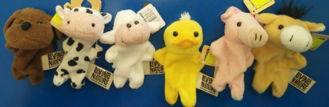 Picture of Farm Finger Puppets