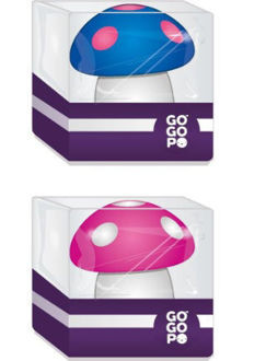 Picture of GoGoPo Mushroom Eraser & Sharpener