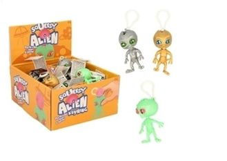 Picture of Squeezy Alien Keyring