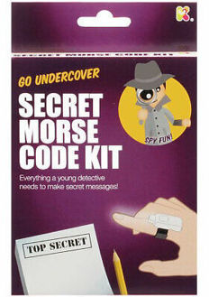 Picture of Secret Morse Code Kit