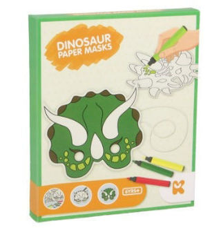 Picture of Dinosaur Paper Masks