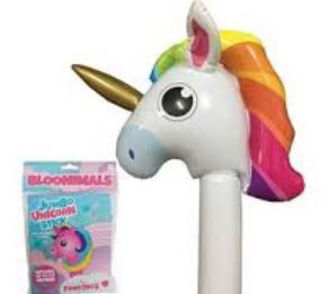 Picture of Inflatable Unicorn Bloonimals