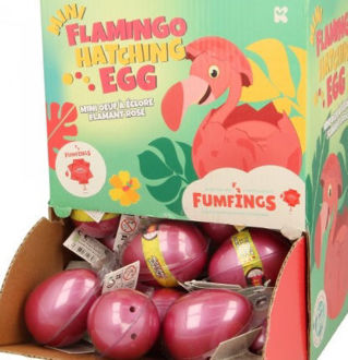 Picture of Mini Hatching Egg Flamingo