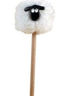 Picture of Pom Pom Sheep Pencil