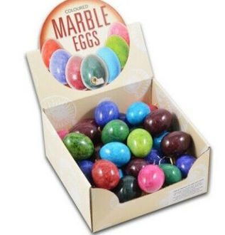 Picture of Coloured Marble Eggs