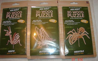 Picture of Mini Insect 3D Wood Puzzle