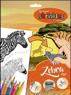 Picture of Zebra Shrinkles Slim Pack