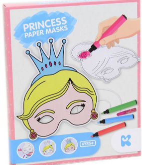 Picture of Princess Paper Mask Kit