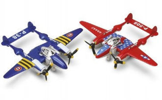 Picture of War Fighter Prop Planes