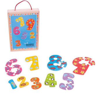 Picture of 1-9 Number Puzzles in a Box