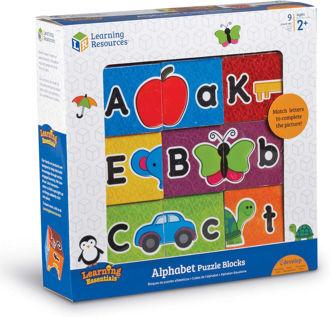 Picture of Alphabet Puzzle Blocks