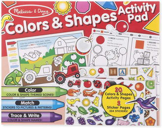 Picture of Colors & Shapes Activity Pad