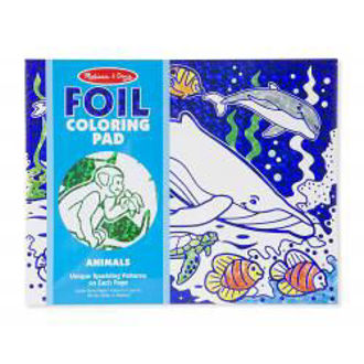 Picture of Foil Coloring Pad Animals
