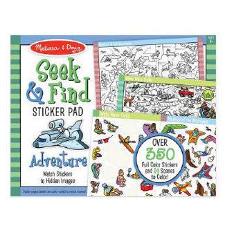 Picture of Seek & Find Sticker Pad - Adventure