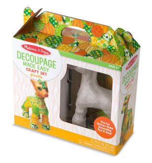 Picture of Decoupage Made Easy Craft Set Giraffe
