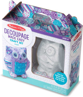 Picture of Decoupage Made Easy Craft Set - Owl