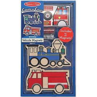 Picture of Wooden Vehicles Magnets