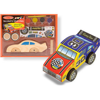 Picture of Decorate Your Own Wooden Race Car