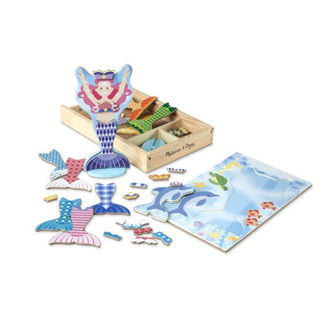 Picture of Mermaid Magnetic Dress-Up Playset