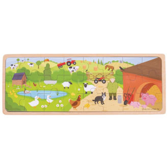 Picture of On The Farm Puzzle